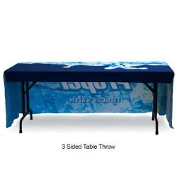 4ft Table Throw Full Color Printing