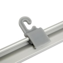 Hanging Clamp Bar Banner Display   PRINT AND STAND PACKAGE