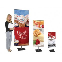 Classic Banner Stand | PRINT AND STAND PACKAGE