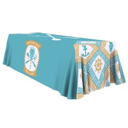 8ft Table Throw Full Color Printing