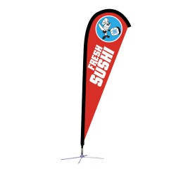 Teardrop Flag 7.5Ft. – Graphic Package