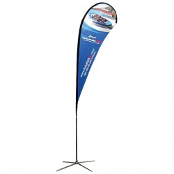 Teardrop Flag 14.5Ft. – Graphic Package