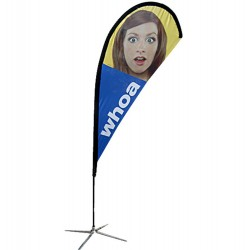 Teardrop Flag 8.2Ft. – Graphic Package