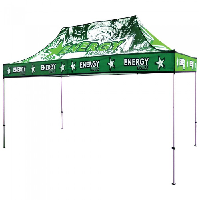 15 ft. Canopy Aluminum Tent - Full-Color UV Print Package