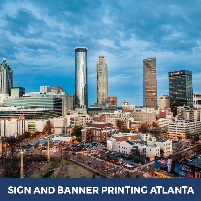 Sign and Banner Printing Atlanta - Trade Show Banner Stands in Atlanta, GA