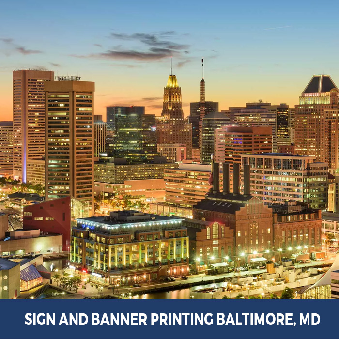 Sign and Banner Printing Baltimore, MD - Trade Show Banner Stands in Baltimore, MD