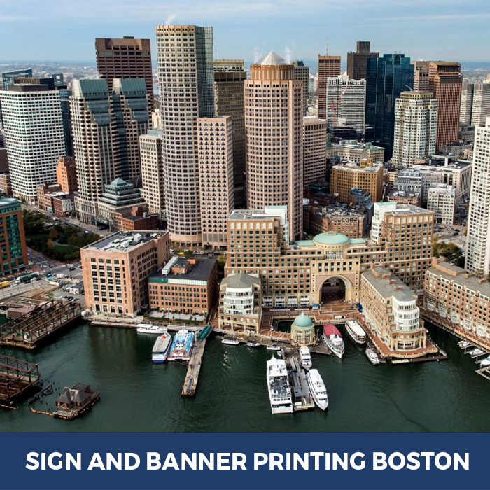 Sign and Banner Printing Boston, MA - Trade Show Banner Stands in Boston, MA