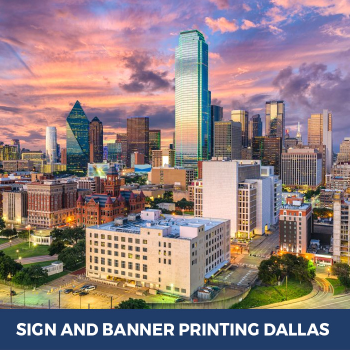 Sign and Banner Printing Dallas, TX - Trade Show Banner Stands in Dallas, TX