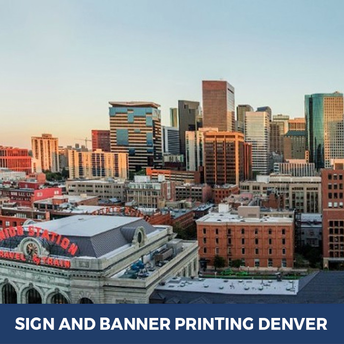 Sign and Banner Printing Denver, CO - Trade Show Banner Stands in Denver, CO