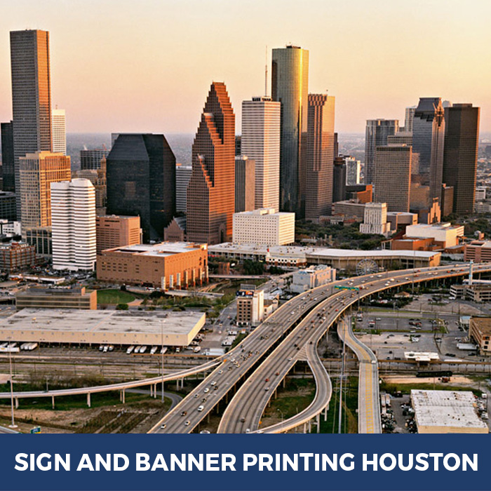 Sign and Banner Printing Houston, TX - Trade Show Banner Stands in Houston, TX