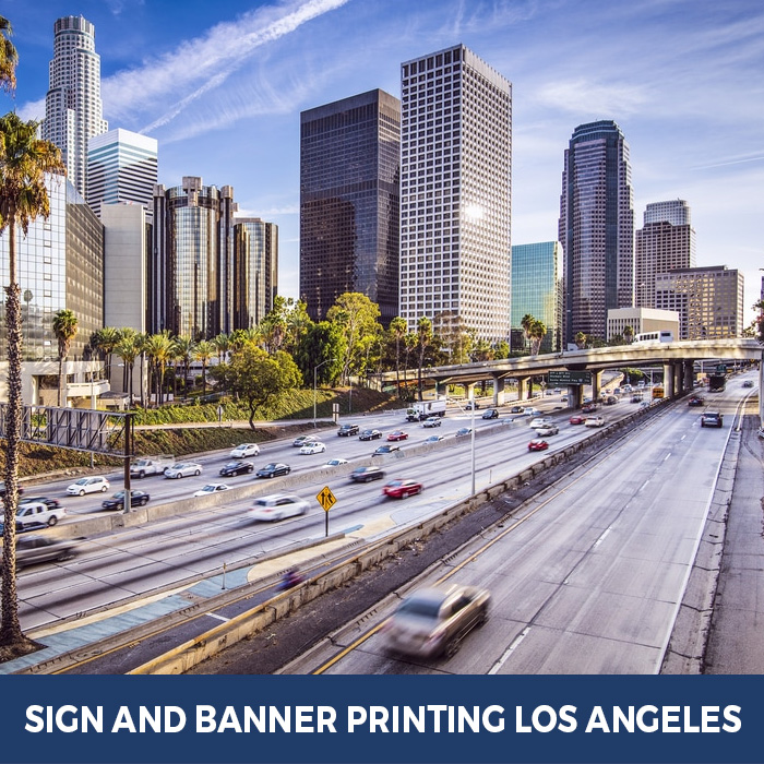 Sign and Banner Printing Los Angeles, CA - Trade Show Banner Stands in Los Angeles, CA