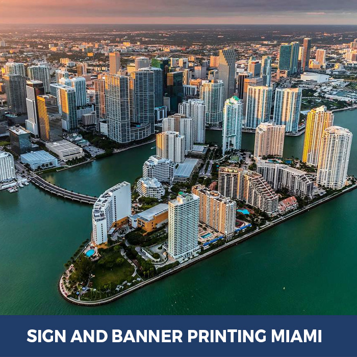 Sign and Banner Printing Miami, FL - Trade Show Banner Stands in Miami, FL