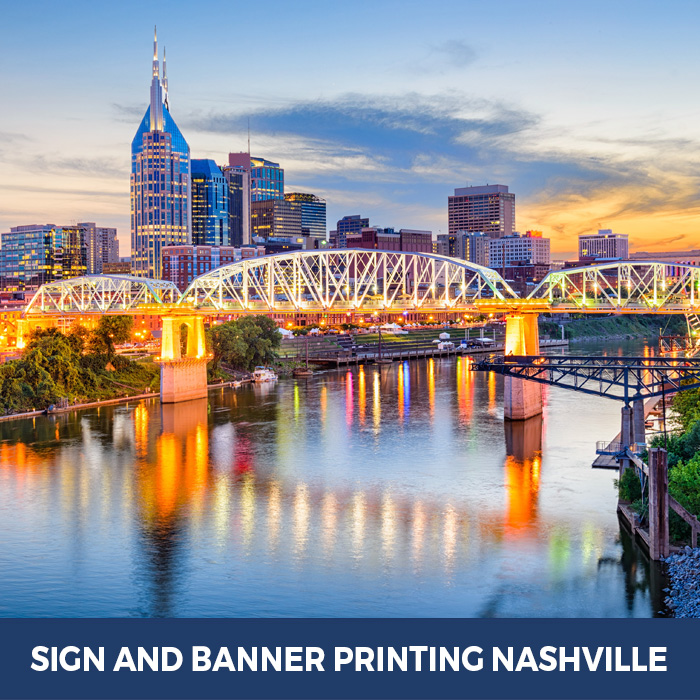 Sign and Banner Printing Nashville, TN - Trade Show Banner Stands in Nashville, TN