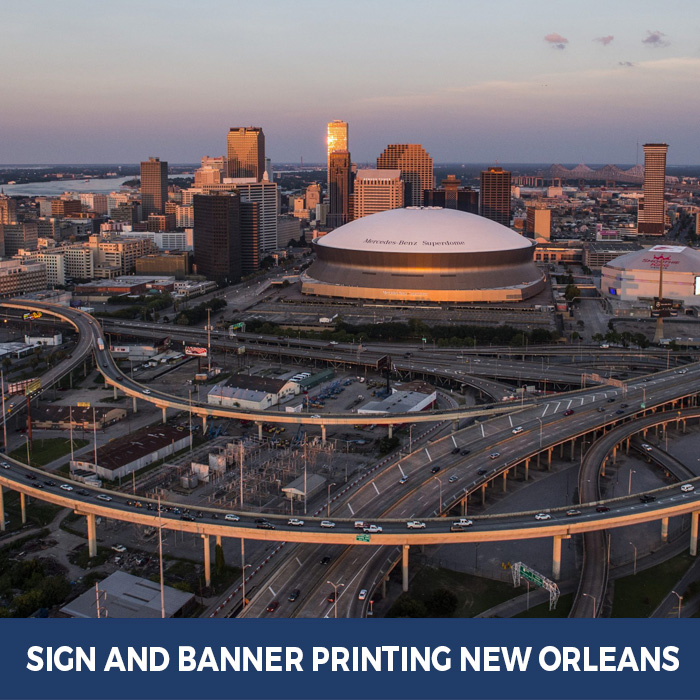 Sign and Banner Printing New Orleans, LA - Trade Show Banner Stands in New Orleans, LA