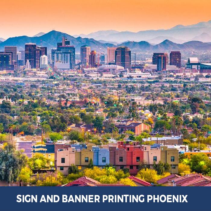 Sign and Banner Printing Phoenix, AZ - Pop Up Banner Stands in Phoenix, AZ