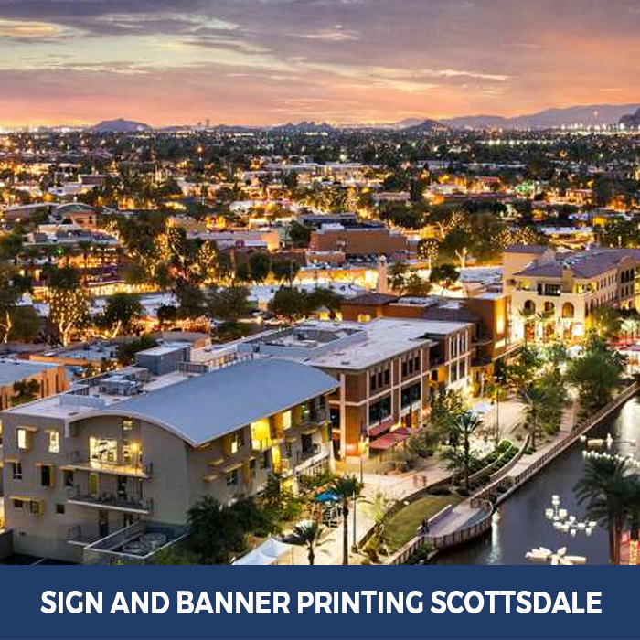 Sign and Banner Printing Scottsdale, AZ - Trade Show Banner Stands in Scottsdale, AZ