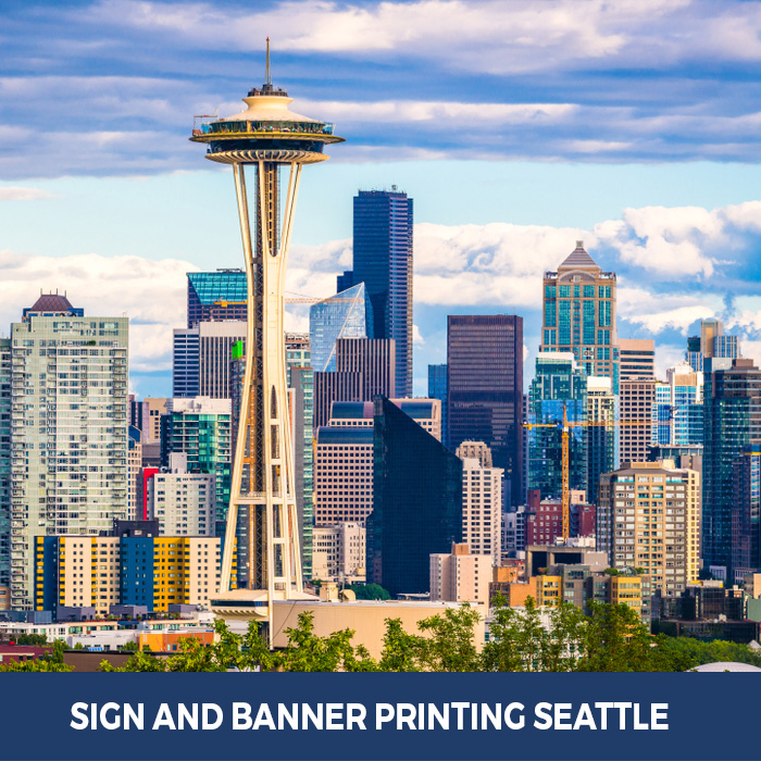 Sign and Banner Printing Seattle, WA - Trade Show Banner Stands in Seattle, WA