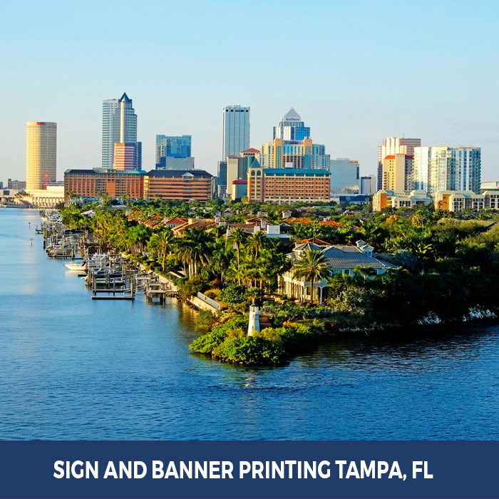 Sign and Banner Printing Tampa, FL - Trade Show Banner Stands in Tampa, FL