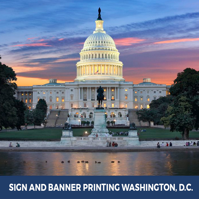 Sign and Banner Printing Washington, D.C. - Pop Up Banner Stands in Washington, D.C.